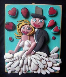 Pebble Art - Foto ricordo di un giorno speciale
