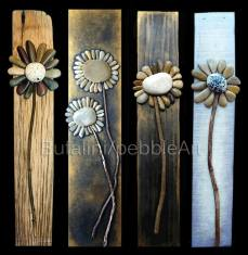 Pebble Art - Time of Flowers