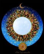 Silvia Logi Artworks - Specchiera Sole e Luna