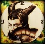 Favole di Legno - Orologio Maleficent