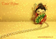 Dolce Bijoux - Ciondolo Geisha