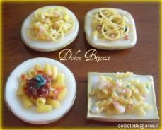 Dolce Bijoux - Piattini di pasta in fimo