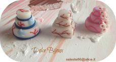 Dolce Bijoux - Piccole torte in fimo