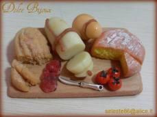 Dolce Bijoux - Tagliere rustico in fimo