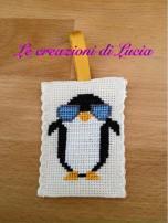 Le crocette colorate di Lucia - Portachiavi Pinguino