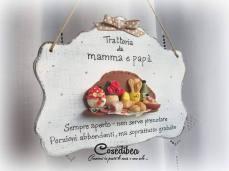 Cosedibea - Quadretto Mamma e Papà