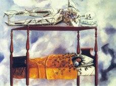 Il Sogno (Il Letto) - Opera di Frida Kahlo del 194