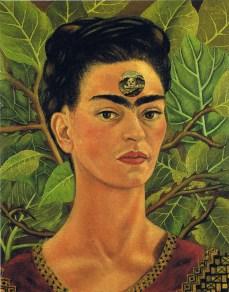 Pensando alla morte - Opera di Frida Kahlo del 1943
