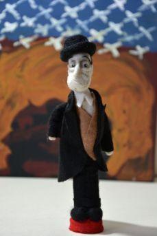 Pupillae Art Dolls -Bambola Totò, Antonio De Curtis