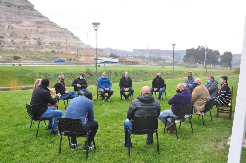 El Comité de Crisis provincial se reunió con referentes del sector comercial
