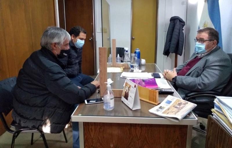 Orazi se reunió con referentes del sector gastronómico