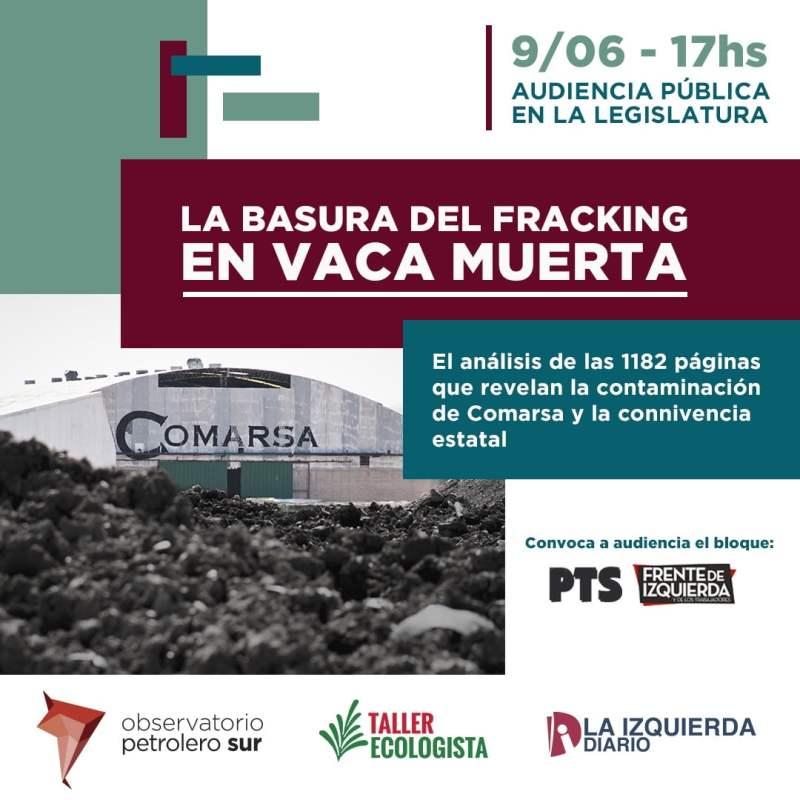 Presentación: La basura del fracking en Vaca Muerta