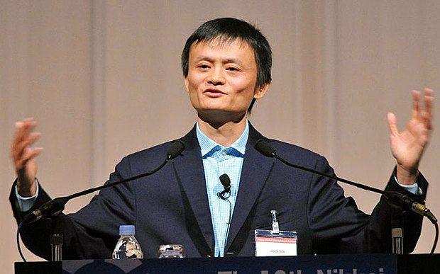 Jack Ma, Fondatore di Alibaba group