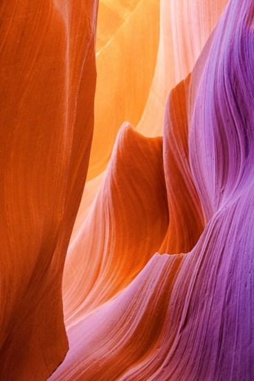 Campeggio, Usa antelope Canyon