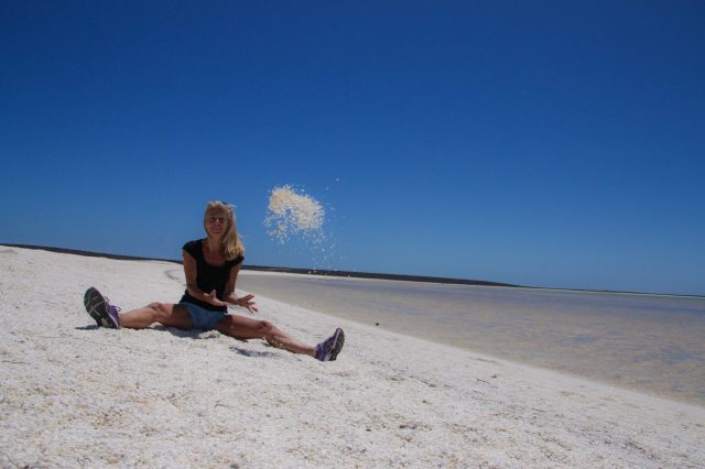 Western Australia, shell beach