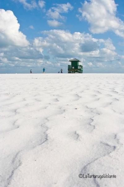 Florida spiaggia di Sanibel