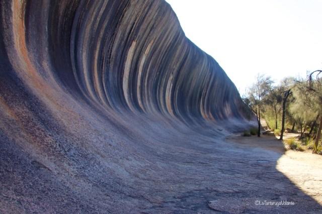 western australia sud, wave rock scorcio