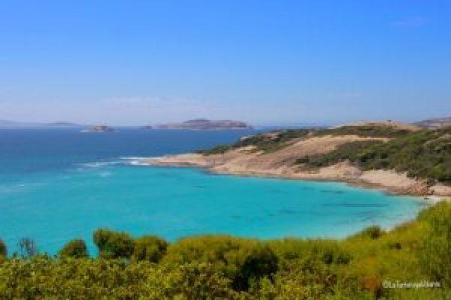 western australia sud, lucky bay beach