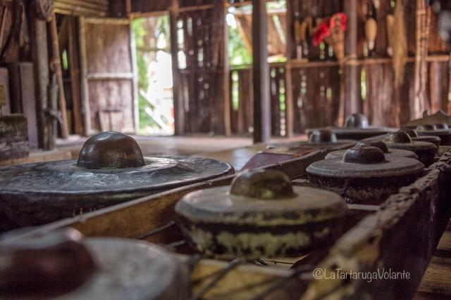 Borneo, Batang ai pentole degli Iban