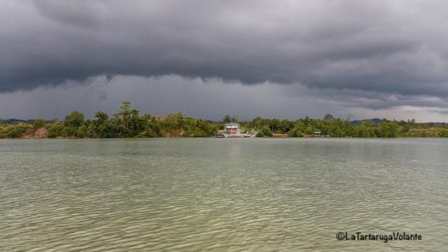 Borneo, pomeriggio temporale