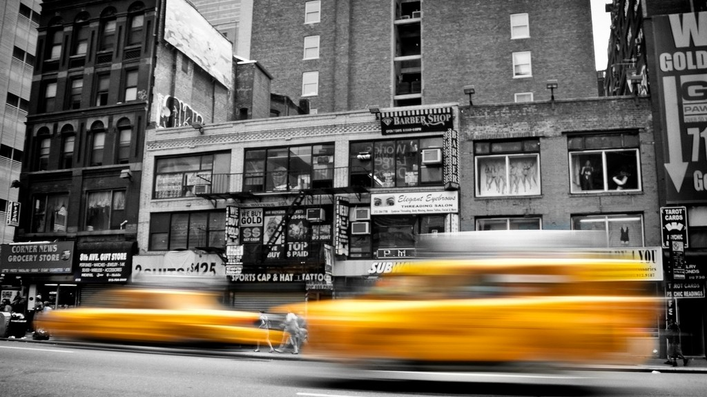Fotografia, taxi a New York