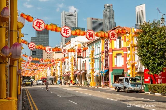 Singapore, China Town