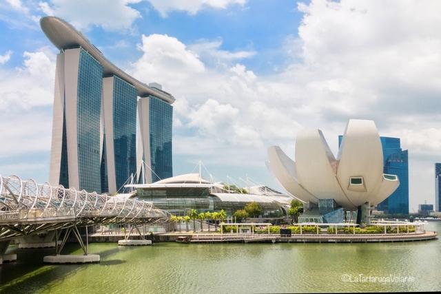 Singapore, Marina Sands di giorno