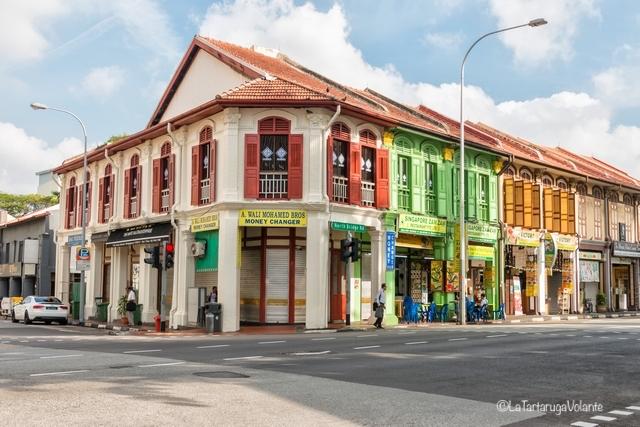 Singapore, case coloniali a Bugis