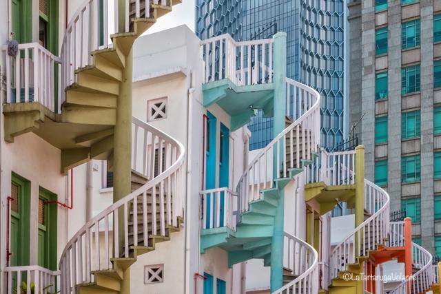 Singapore, città delle scale