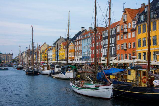 primo viaggio all'estero, Copenaghen
