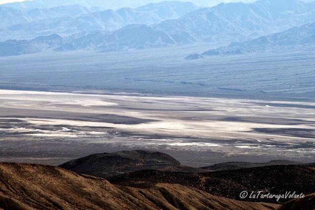 California, Death Valley dall'alto
