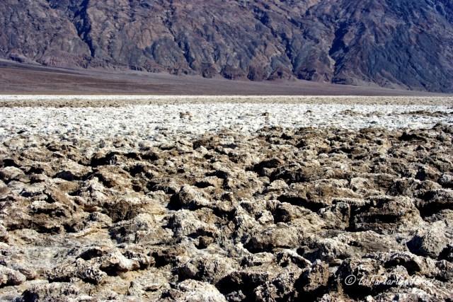 California, Death Valley siccità