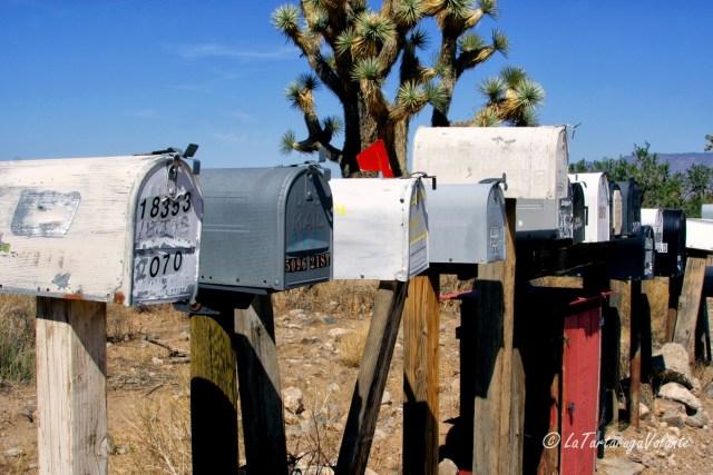 California e Death Valley,cassette postali