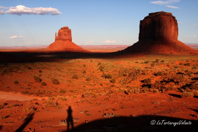 Monument Valley , ombre lunhge