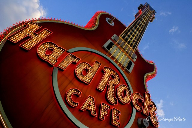 Las Vegas chitarra