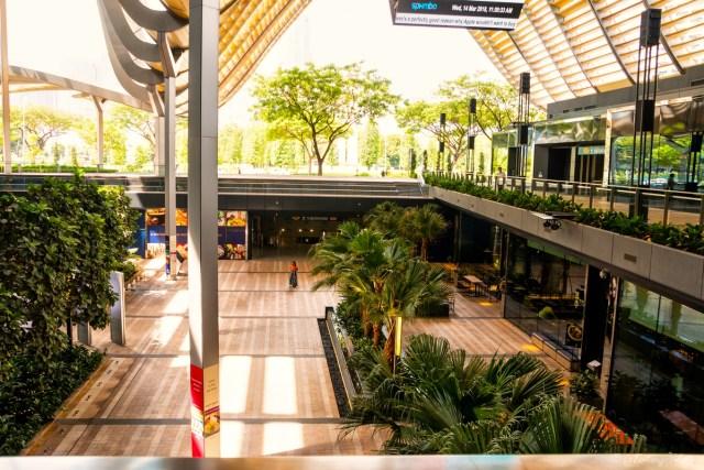 Metropolitana Singapore, interno