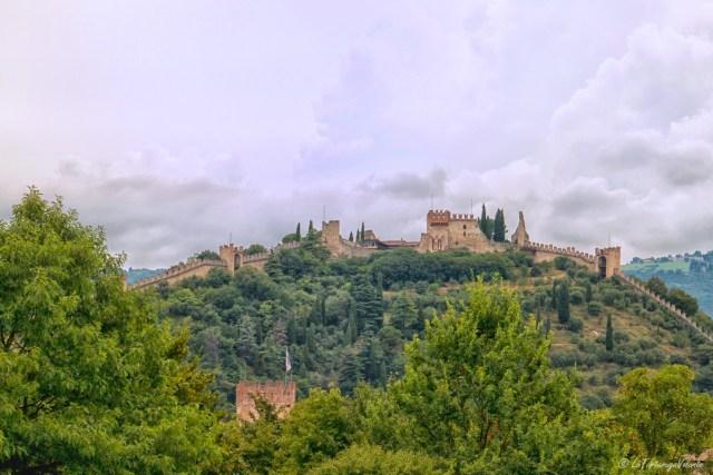 Marostica, castello superiore e mura