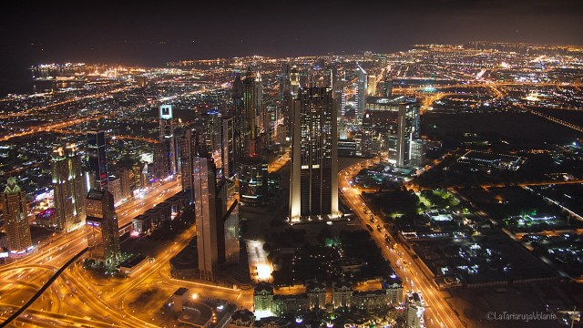 Dubai, by night