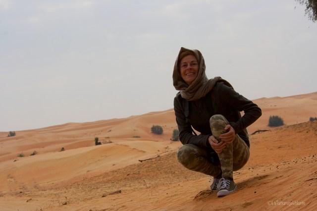 Dubai, la tartarugavolante nel suo habitat naturale
