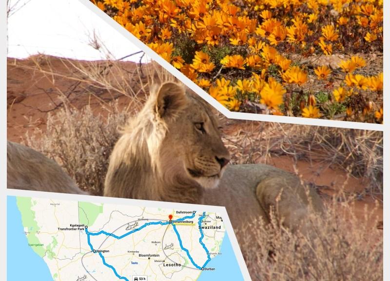 sudafrica itinerari