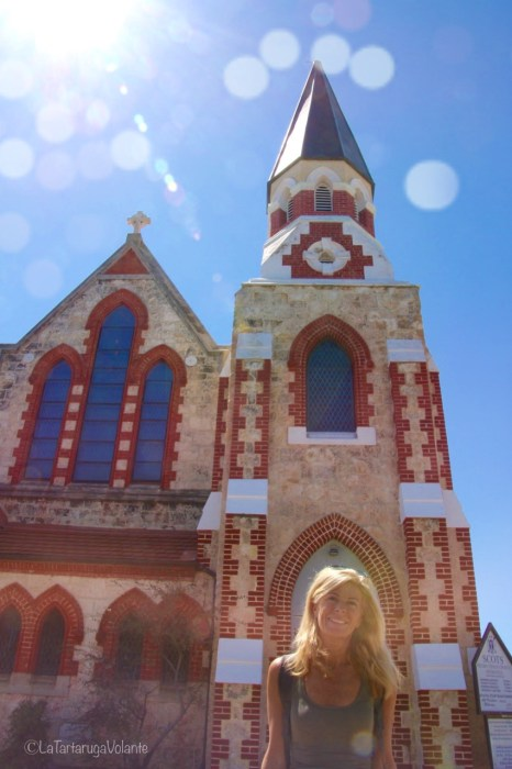 Fremantle chiesa and me