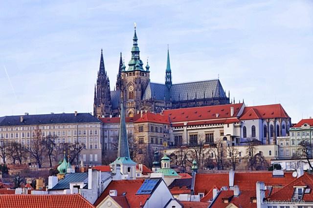 Praga, chiesa di san vito e castello