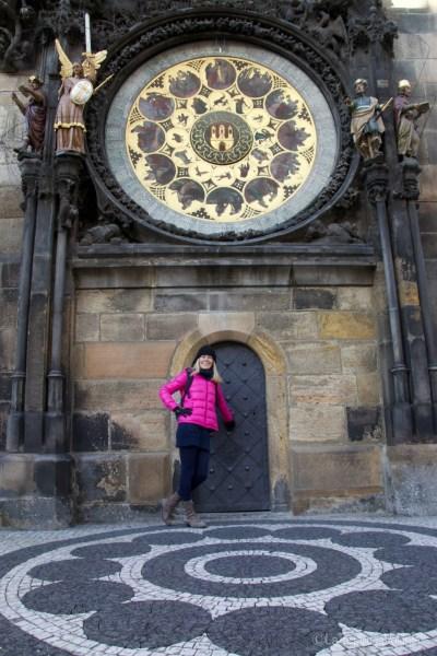 Praga, io e l'orologio