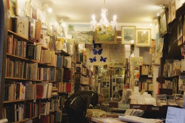 Praga, piccola libreria