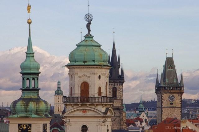 Praga, antica osteria di citta piccola