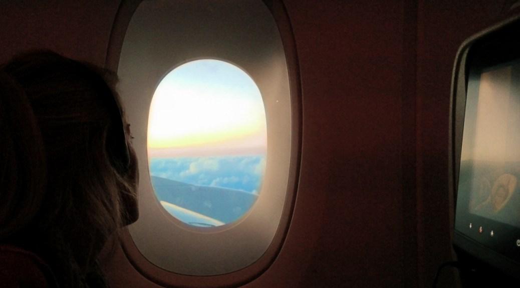 posto aereo, dall'oblo