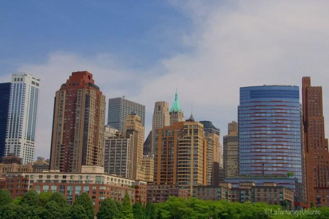 New York, palazzi sul fiume