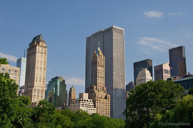 dove dormire a New york , foto dal central park