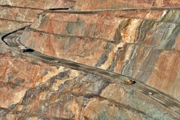 kalgoorlie super pit e super camion, lake ballard e goldfields region