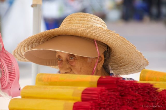 Bali anziana